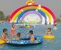 Comercial inflável equipamentos de parque aquático, inflável da água brinquedos divertidos para venda