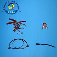 Dry powder fire extinguisher accessories