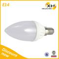 Prix usine ampoule led bougie/ampoules led e14 3w/e14 ampoule led de haute qualité