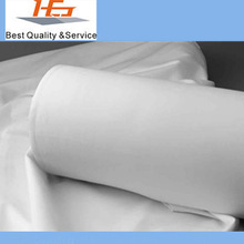 100% cotton white sateen bedding fabric