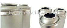 matel can tinplate can Different Diam.52mm necked-in empty packaging aerosol tin can