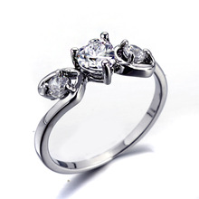 New Arrivals Fashion Zircon Heart Thick Platinum Plated Party Muslim Rings SP-JZ-77253 Sex Adult Power Ring
