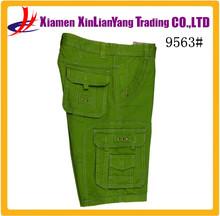 Modern Washed Plain Cargo Shorts Wholesale Mens Cargo Pants
