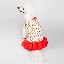 Latex design custom pattern pet dress