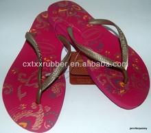 Printed Flip Flops Sandals Slippers