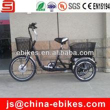 Three wheels electric cargo bike