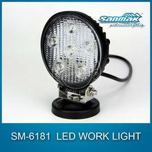 Off road led atv light PMMA lens Heavy duty led atv spare parts manufacturer work lamp sm6181
