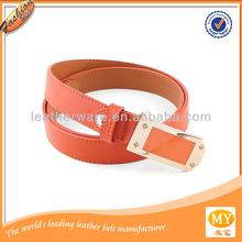 Fashion accessories 2014 pu or genuine leather rhinestone belt