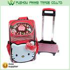 Durable hello kitty travel trolley bag