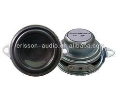 3w 4 ohm 40mm 1.5 inch full range speaker