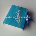 Eco- amichevole di cartone regalo pieghevole contenitore di imballaggio per borsa con mare blu tema