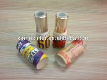 Exquisite paper gold lipstick tube for bamboo lip balm tube
