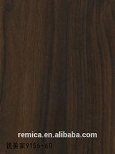 9156(60)Dark Walnut texture hpl decorative wall panel