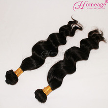 Homeage high quality raw unprocessed virgin wholesale daring sex hair