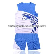 2014 China Cool-dry Basketball wear Wholesale plus size