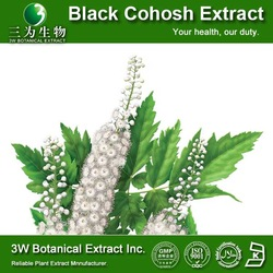 Food Grade Supplement Pure Black Cohosh Extract Triterpene Glycosides