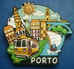 ADVERTISING PROJECT 3d tourism souvenir soft pvc rubber cities fridge magnets