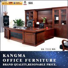 Malaysia wood veneer office computer desk