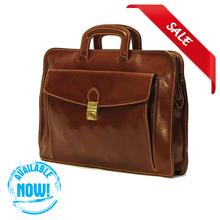 High Quality Genuine Leather Italian Men Bags