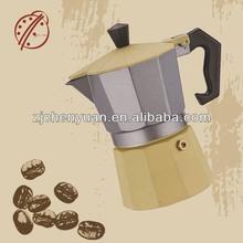 OGNIOAR China Manufacturers Stove Top 3cup Aluminum Espresso Set