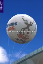the most popular custom printing inflatable helium balloon