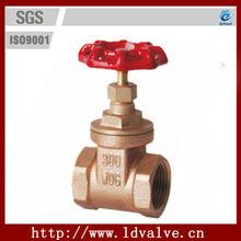 "XY-ZF-001 1/2""-4"" Hand wheel Thread Non-rising Stem 300psi Cast Bronze Gate Valve"