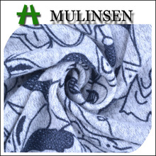 Mulinsen Textile Hot Sales Printed Stretch Angora Fabric Painting Designs for Kids
