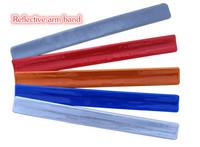 PVC clear plain Reflective slap wrap steel
