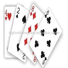 2014 wholesale custom printed poker 100% plastic playing cards
