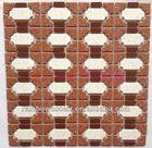 eight sided shape,have speck,bathroom ceramic tiles.bathroom cobblestone floor tile(NO:6012)