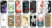 For iphone 4 4s case plastic customize print case