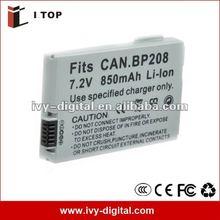 7.4V New Video Camera Battery for BP-208