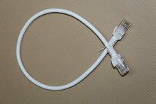 RJ45 Cat5e/cat6/cat6a/cat7 Ethernet Patch Cable White Braiding Shielded 250MHz