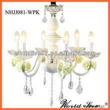 NHJJ081 Colorful Modern Wedding Crystal Chandelier