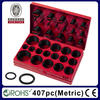 Rohs Certification 407pc Assorted Metric O-Ring Kit Box