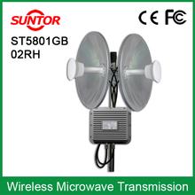 Outdoor 50km MIMO high bandwidth hotspot wireless bridge