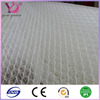 Nylon and polyester air filter mesh fabric sandwich