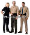 2015 seguridad pública uniforme de seguridad uniformes de la compañía