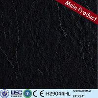 Hot sale 24X24 black polished peronda porcelain tile