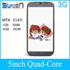 MTK6589 quad core 5 inch smartphone quad core s4