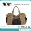 canvas men's fashion brand duffle bag big travel bag pack play travel bag