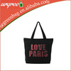 Small tote bags canvas cotton with zipper