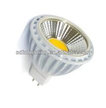 5w LED COB spotlight MR 16 with optical lens /LED Spotlighting