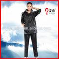 100% a prueba de agua de lluvia chaqueta para las mujeres