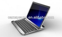 Bluetooth Keyboard ultrathin Aluminium alloy with stand hold Keyboard case For Samsung Galaxy Note 10.1 N8000 N8010 N8013