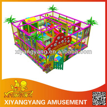 4S small indoor play area children's playground slide and swing Naughty Family Amusement slides