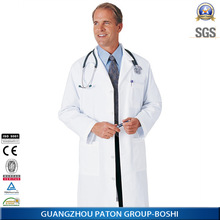 New Style Mens Back Belt Doctors Coat,Hopital Doctor Uniform,Top Quality,CK1346
