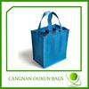 Durable in use fancy wine bottle gift bags