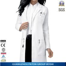 Ladys White Doctor Uniform,Medical Coat for Women,Hot Sale Hospital Uniform Design,D83402
