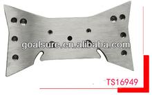Panel de aluminio cnc de mecanizado de piezas de yates yate